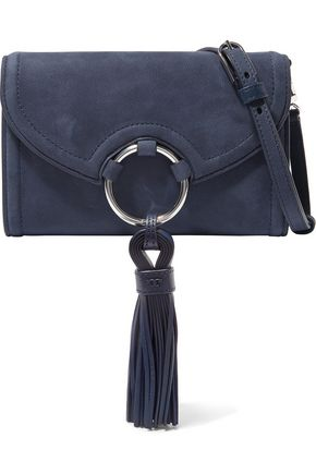 TORY BURCH Nubuck shoulder bag