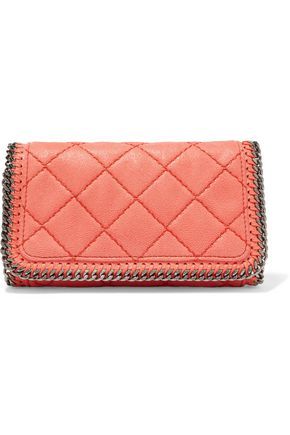 STELLA McCARTNEY Falabella quilted faux leather shoulder bag