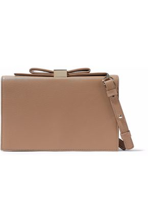 SEE BY CHLOÉ Bow-embellished leather clutch