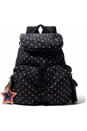 SEE BY CHLOÉ Embellished printed shell backpack