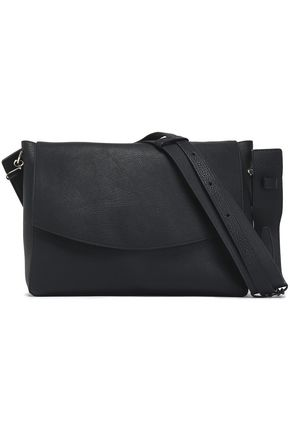 VICTORIA BECKHAM Leather-trimmed canvas shoulder ba