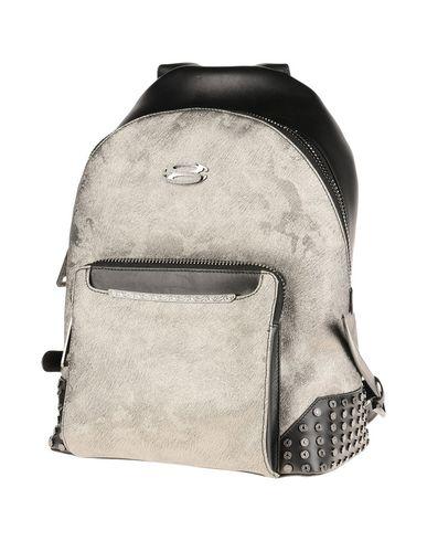SANTONI レディース バックパック&ヒップバッグ 鉛色 革