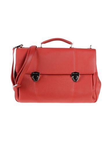 Фото - Деловые сумки красного цвета
