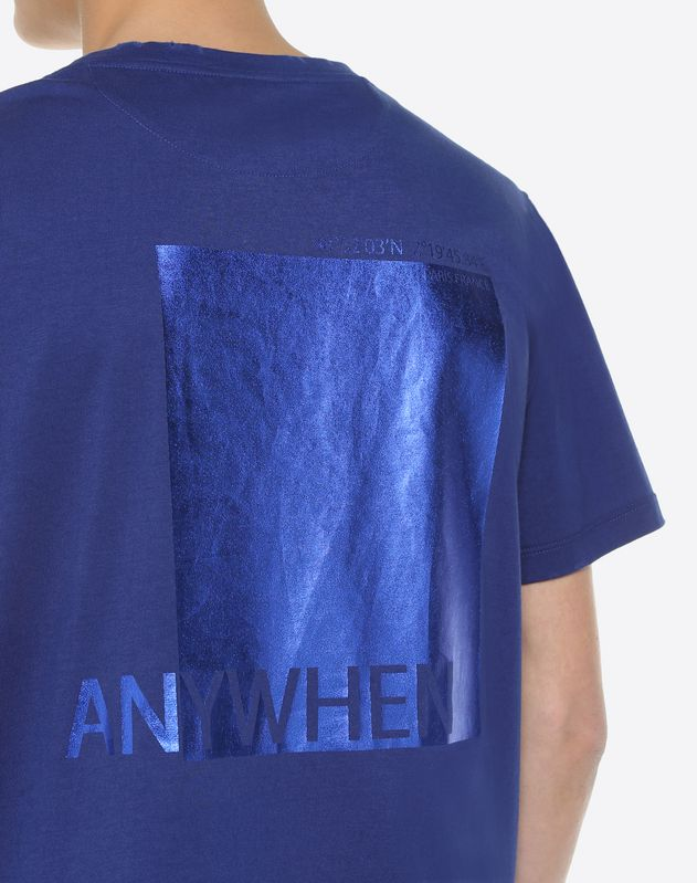 'Anywhen' print T-shirt