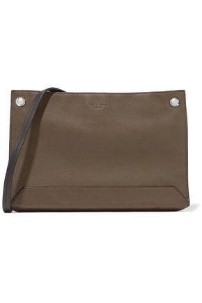 RAG & BONE Studded two-tone textured-leather shoulder bag