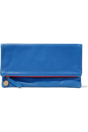CLARE V. Leather clutch