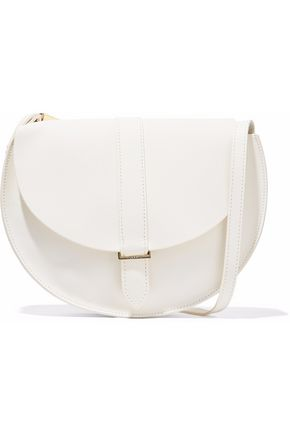MASTER&MUSE x CLARE V. Leather shoulder bag