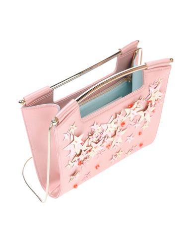 DELPOZO レディース ハンドバッグ ピンク 紡績繊維