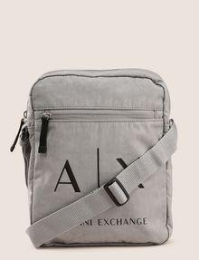 ARMANI EXCHANGE CLASSIC LOGO CROSSBODY Crossbody bag Man f