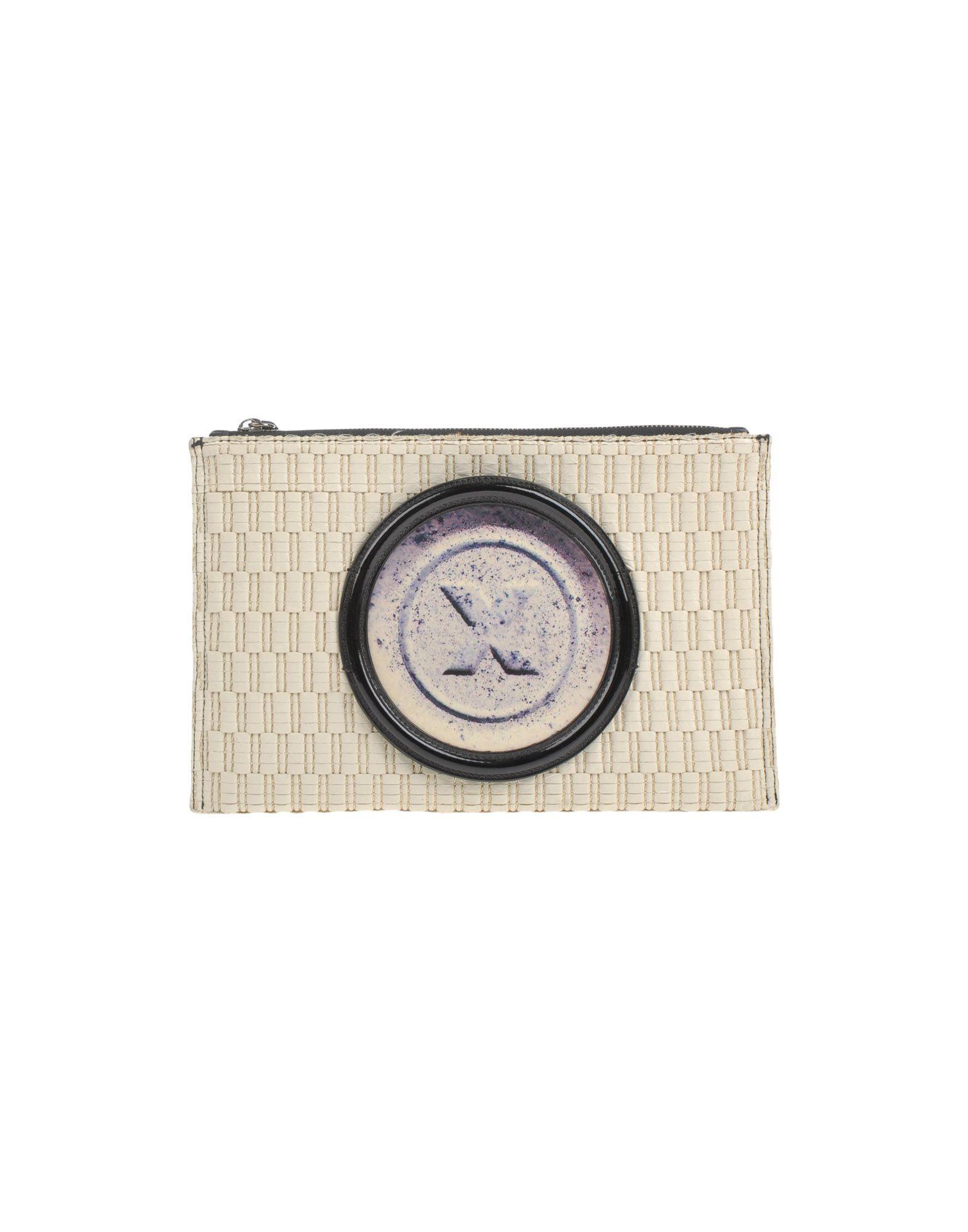 THOMAS BLAKK Handbag in Ivory