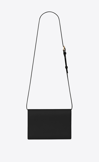 SAINT LAURENT Bellechasse D Medium BELLECHASSE SAINT LAURENT bag in black leather and suede b_V4