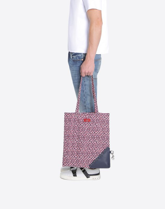 Self Folding Lunar Punk Tote