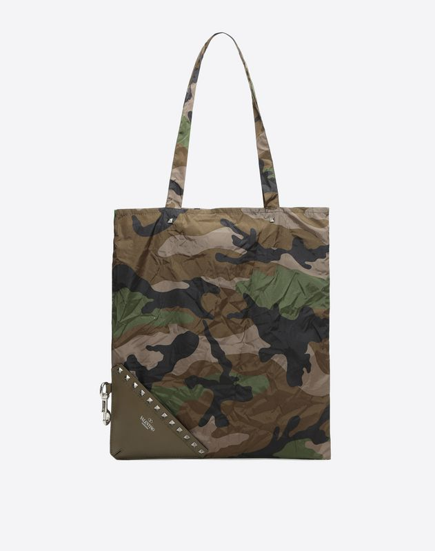 Self Folding Camouflage Tote
