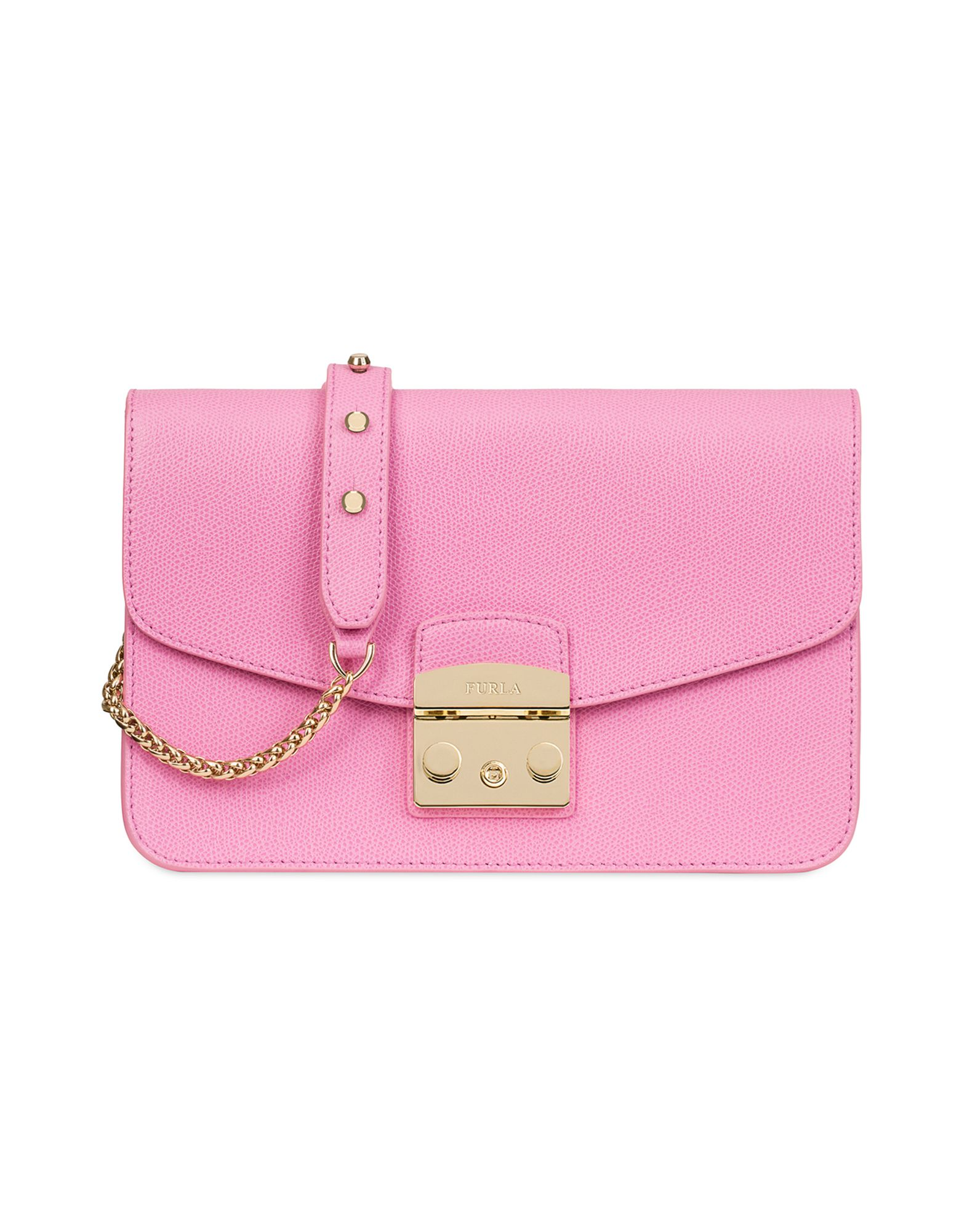 3738e143ad29 Furla Small Metropolis Saffiano Leather Bag In Fuchsia