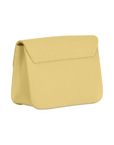 Фото 2 - Сумку через плечо светло-желтого цвета