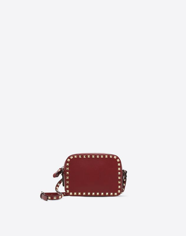 promotion drop shipping new high Small Rockstud Calfskin Crossbody Bag for Woman | Valentino ...