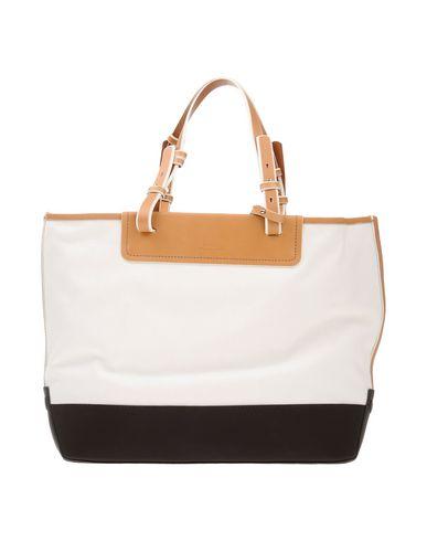 BALLY レディース ハンドバッグ ホワイト 革 / 紡績繊維