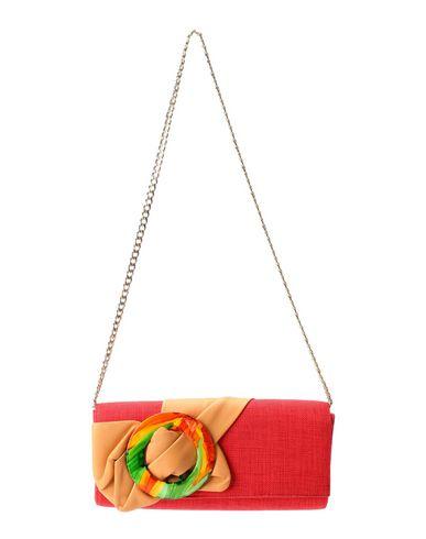 RODO レディース ハンドバッグ レッド 紡績繊維