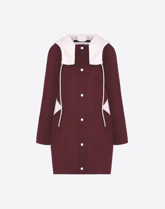 Mantel aus Compact Drap