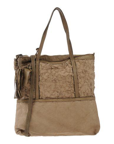 CATERINA LUCCHI レディース ハンドバッグ サンド 牛革(カーフ) / 紡績繊維