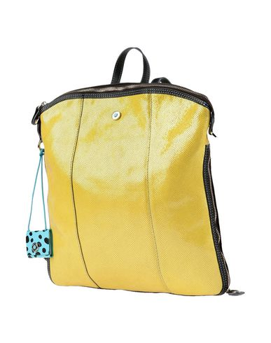 GABS レディース バックパック&ヒップバッグ イエロー 紡績繊維
