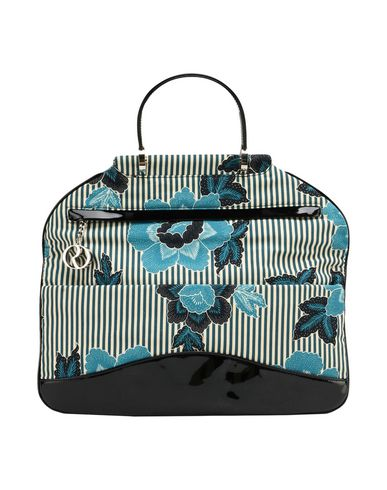 RODO レディース ハンドバッグ ディープジェード 紡績繊維
