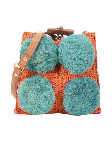 JAMIN PUECH レディース ハンドバッグ グリーン 紡績繊維