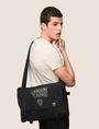 ARMANI EXCHANGE TONAL CIRCLE LOGO MESSENGER BAG Messenger Bag Man e