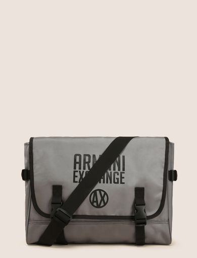 TONAL CIRCLE LOGO MESSENGER BAG