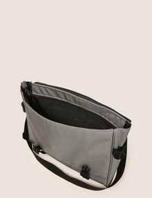 ARMANI EXCHANGE TONAL CIRCLE LOGO MESSENGER BAG Messenger bag Man d