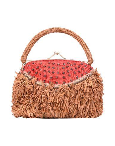 JAMIN PUECH レディース ハンドバッグ キャメル 紡績繊維