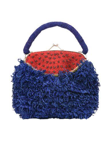 JAMIN PUECH レディース ハンドバッグ ダークブルー 紡績繊維