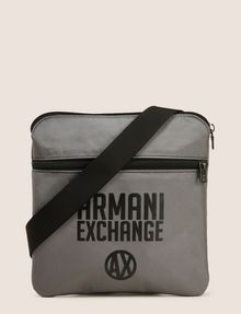 ARMANI EXCHANGE TONAL CIRCLE LOGO CROSSBODY Crossbody bag Man f