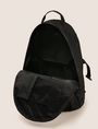 ARMANI EXCHANGE TONAL CIRCLE LOGO BACKPACK Backpack [*** pickupInStoreShippingNotGuaranteed_info ***] d
