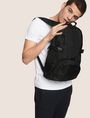 ARMANI EXCHANGE TONAL CIRCLE LOGO BACKPACK Backpack Man e