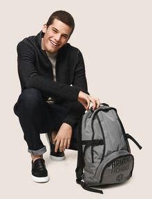ARMANI EXCHANGE TONAL CIRCLE LOGO BACKPACK Backpack Man e