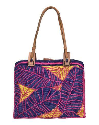 JAMIN PUECH レディース ハンドバッグ フューシャ 紡績繊維