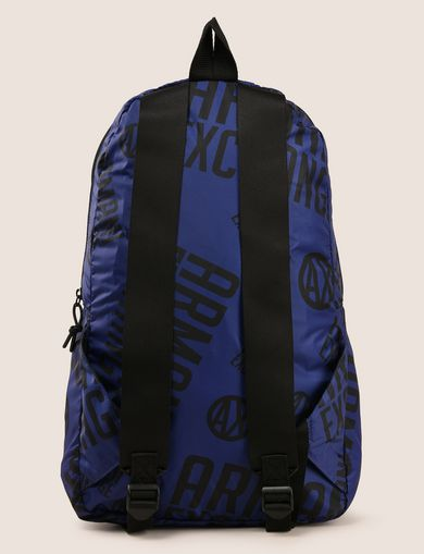 CIRCLE LOGO NYLON BACKPACK