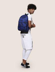 ARMANI EXCHANGE CIRCLE LOGO NYLON BACKPACK Backpack Man e