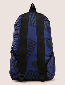 ARMANI EXCHANGE CIRCLE LOGO NYLON BACKPACK Backpack Man r