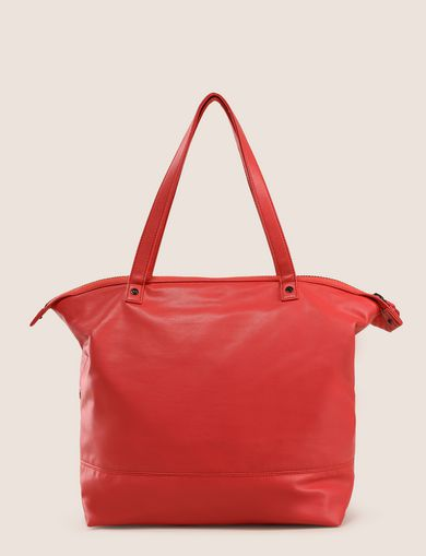 SLOUCHY SQUARE TOTE