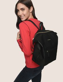 ARMANI EXCHANGE SLOUCHY ZIP-TOP BACKPACK Backpack Woman e