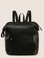 ARMANI EXCHANGE SLOUCHY ZIP-TOP BACKPACK Backpack Woman f