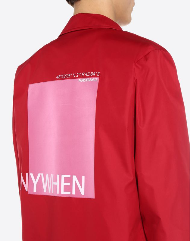 Coach Jacket with Anywhen lettering
