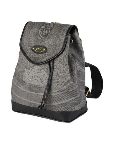 GATTINONI レディース バックパック&ヒップバッグ 鉛色 紡績繊維