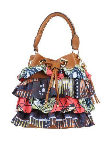 LA CARRIE BAG レディース ハンドバッグ ブラウン 紡績繊維