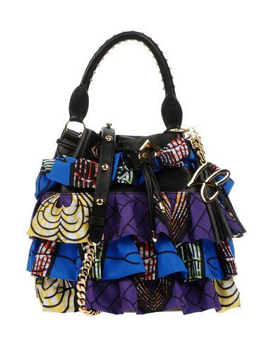 LA CARRIE BAG レディース ハンドバッグ パープル 紡績繊維