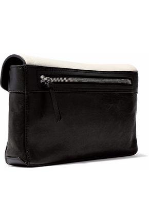 RAG & BONE Paneled leather clutch