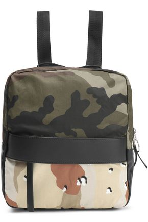 MM6 MAISON MARGIELA Printed canvas backpack