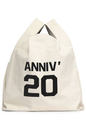 MM6 MAISON MARGIELA Printed canvas tote